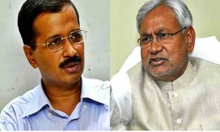 Nitish Kumar, Sought, Support, Kejriwal
