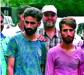 ISI, Arrested, Two Terrorists