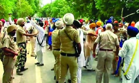 Faridkot, Beating, Akali, Leader, Tense