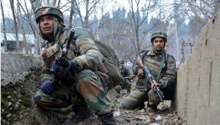 Security, Forces, Encounter, With, Militants, Sopore