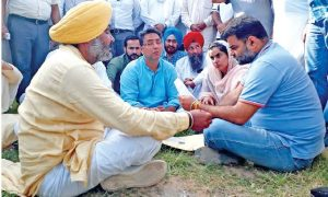 AAP MLA, Surrounded, Captain, House, One Day, Hunger Strike