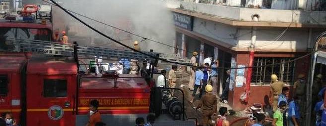 Fire, Kolkata, Medical, College, Campus