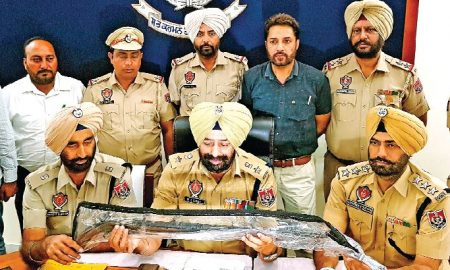Weapons Bulk, Recovered, German Singh, Accomplice