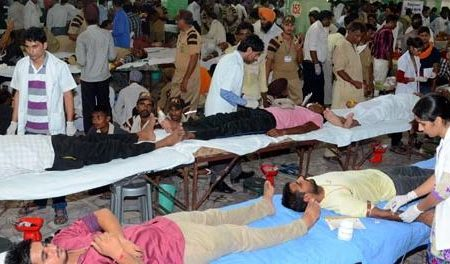 Blood, Donation, Camp, Dera, Sacha, Sauda, Today