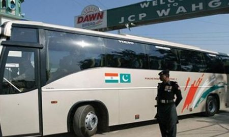 Karwan-E-Aman, Bus, Service, Started, Again, A, Week, Later