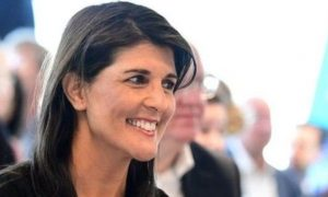 Nicky, Haley, Resigns