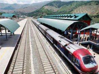 Rail, Service, Suspension, Fourth, Consecutive, Term, Kashmir