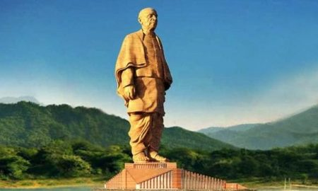 PM, Dedicates, People, Statue, Of, Unity