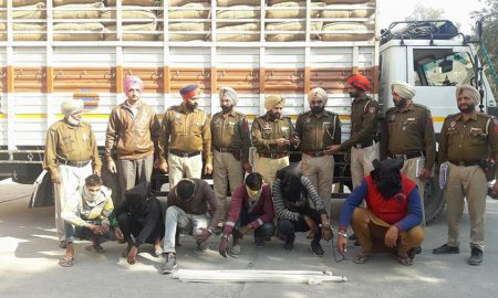 Police, Recovered,Canter,Basmati, Robbed, Weapon, Force