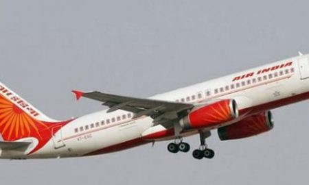 Air, India, Plane, Collides, With, Building