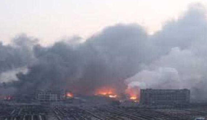 Explosion, Chemical, Plant, China
