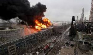 China, Factory, Explosion, Two Killed, 24 Injured