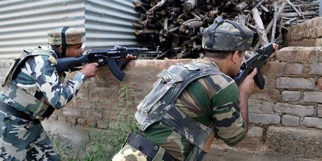 Encounter, Anantnag, Four Terrorists Killed