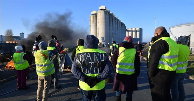 500 People Injured, Protests Against, Fuel Prices, Rise, France
