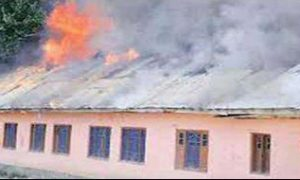 Fire, Government School, Kupwara