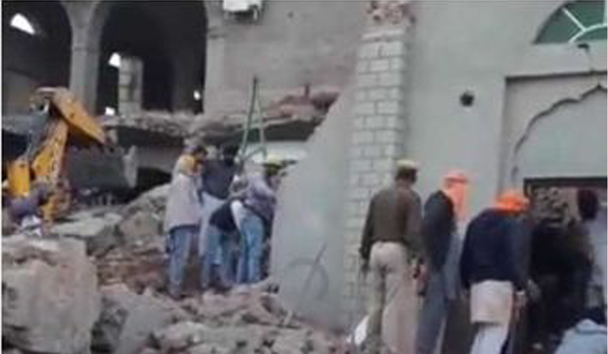 Three Volunteers Killed, Three Injured, Collapse, Gurdwara, Building Collapse