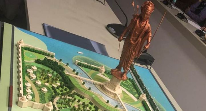 Ayodhya, Will, Be, Tallest, Statue, Lord, Ram