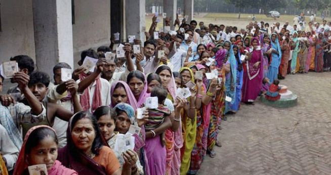 Polling, Begins, All, 230 Seats, In, Madhya, Pradesh