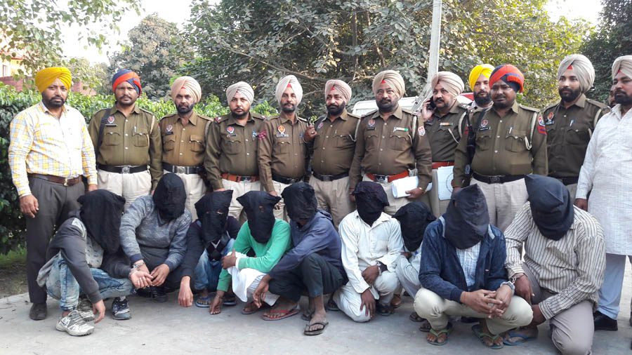 9people, Including, Mastermind,Robbery, Arrested, Police