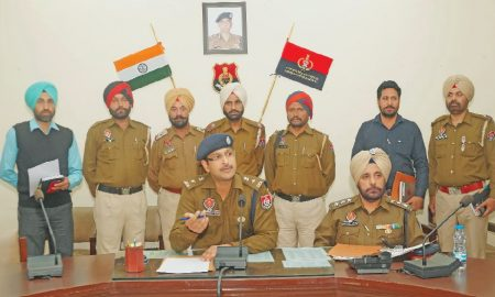 Khalistan Gadar Force Leader, Sangrur Police, Arrested