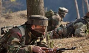 A, Militant, Killed, Encounter, Sopore