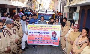 Joginder singh, Body Donate, Medical