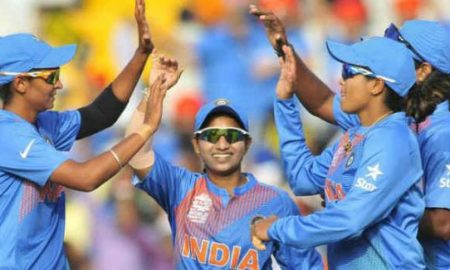 Mithali, Half, Century, India, Beat, Pakistan