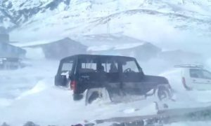 Srinagar, Leh, Highway, Closed, Due, To, Heavy, Snowfall