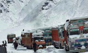 National, Highway, Closed, Due To, Snowfall, And, Landslides, Kashmir