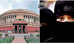 Three divorce bills passed in the Lok Sabha, an opponent's walkout