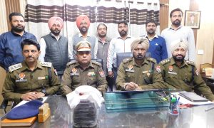 One kg of heroin was recovered