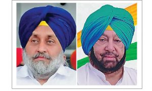 Amarinder and Sukhbir's rivalry about riots