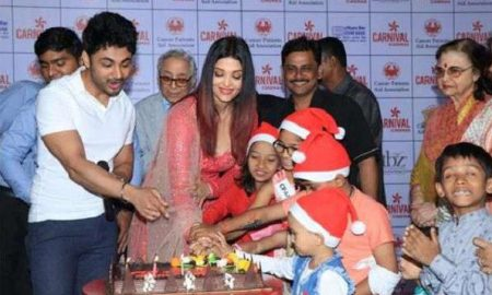 Aishwarya, Children Suffering From Cancer