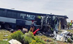 Eight People Died, In Bus Accident, In Central mexico