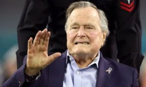 Former, Us, President, George Bush, Passed, Away