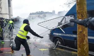 110 Wounded, Violence, Paris, Anti, Fuel, Protest