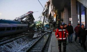 Terrible, Rail, Crash, Turkey