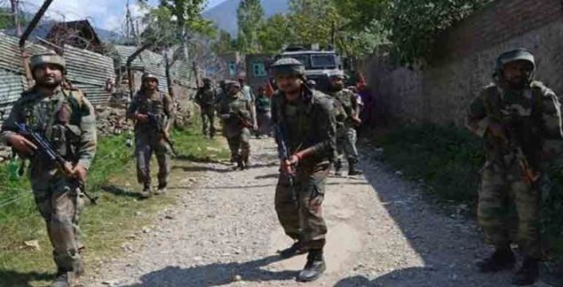 Two Militant Heaps, Encounter In Pulwama