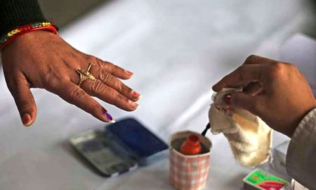 Voting, Continues, Between, Tight, Security, Telangana