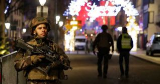 Three Killed, 12 Wounded, In Firing In France
