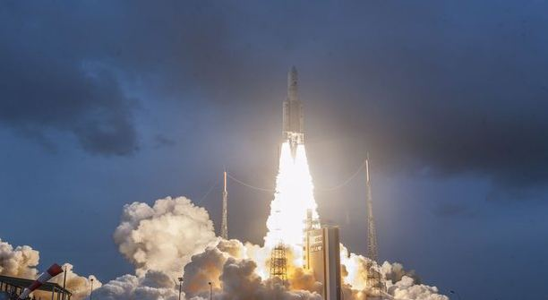 Country's, Largest, Satellite, Gsat-11, Successfully, Launched