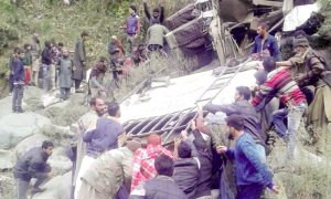 People, Killed, Bus, Crash, Jammu
