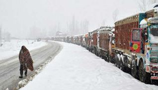 Srinagar Leh National Highway, Closed For Fourth Consecutive Day