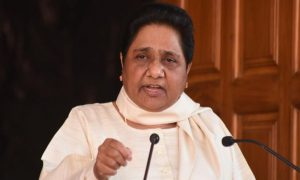 Mayawati targets Congress over