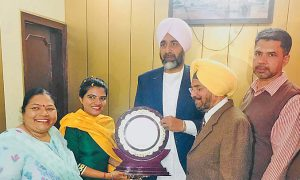 Dilshad Kaur of Bathinda secured third rank after passing the PCS exam