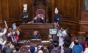 No Work, Rajya Sabha, Seventh Day
