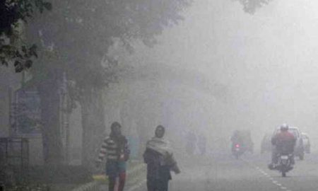 The fury of cold weather prevailed in different states of the country
