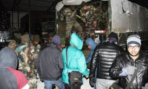 Army, rescues, 2500, stranded, stranded, Nathula, Darbar