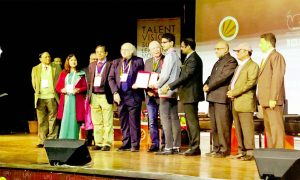 Infosys Foundation Travel Award for Students from St. MSG Gloria International School