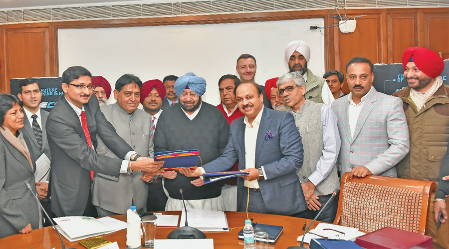 Agreement for allotment of 100 acres of land to Hero Cycle